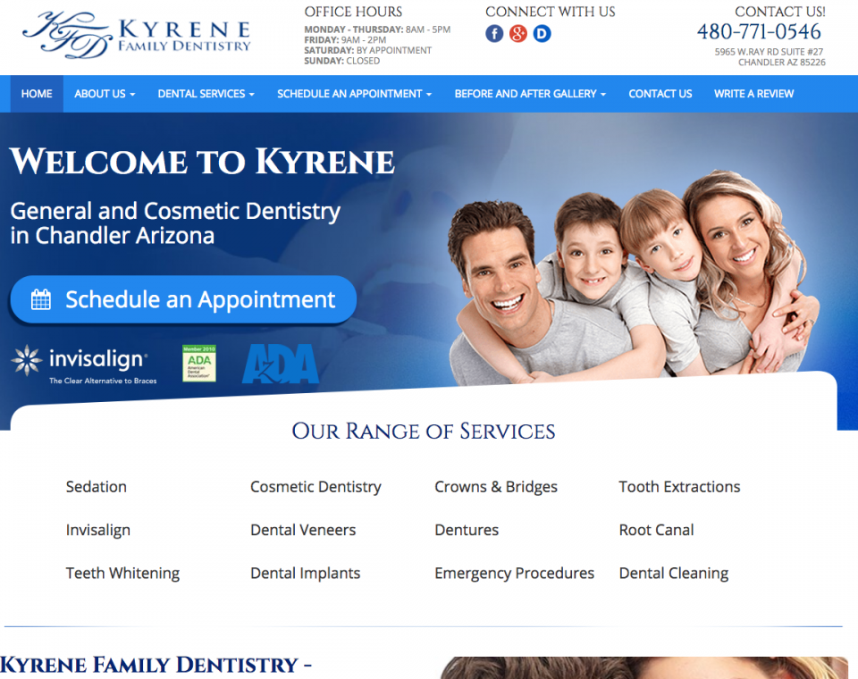Kyrene Family Dental